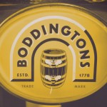 Boddington's keg 'lens', Manchester.