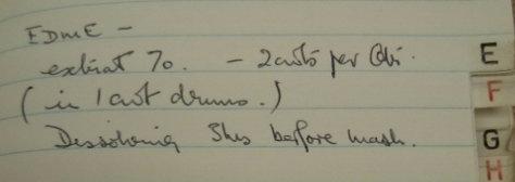 EDME description from notebook.