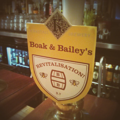 Revitalisation beer pump clip.