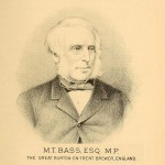 Michael Thomas Bass, grandson of William Bass Jr, who oversaw the brewery's enormous growth in the 19th century.