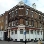 Former pub building, now residential, Islington, North London.