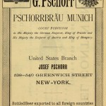 Pschorr -- an international company by 1896.