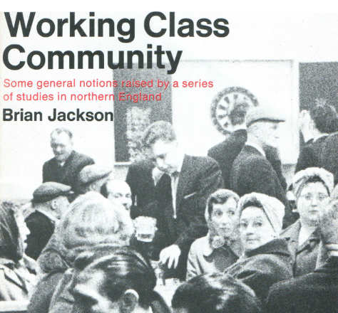 Detail from the cover of Working Class Community by Brian Jackson, Pelican, 1972.