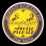 Label for Brahms & Liszt Pale Ale by the Selby Brewery. (SOURCE: Martin Sykes.)