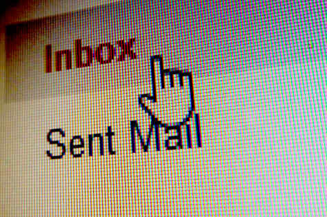 Email inbox.
