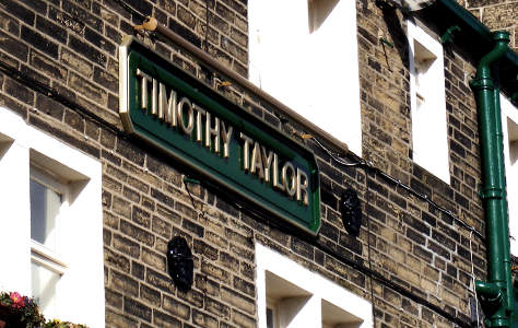 Timothy Taylor sign.