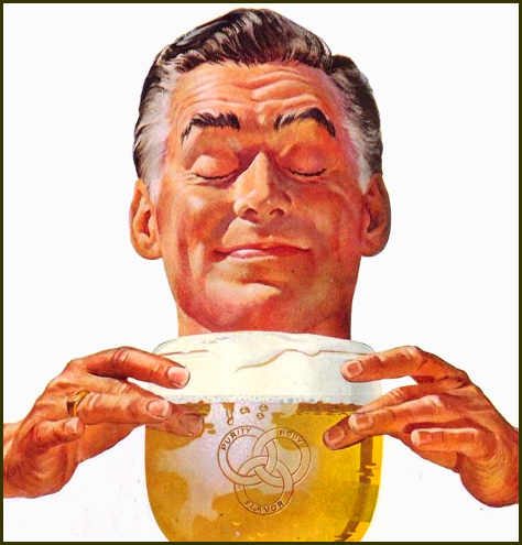 Detail from a 1953 advertisement for Ballantine Ale. (Not IPA...)