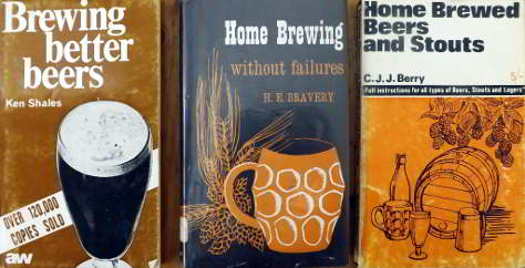 Home brewing books.