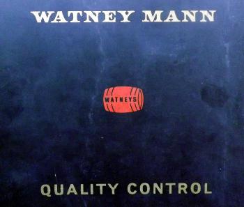 Watney Mann quality control manual, 1965.