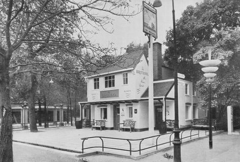 The Britannia Inn, Copenhagen. SOURCE: The House of Whitbread, Winter 1955-56.