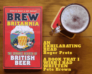 The cover of Brew Britannia