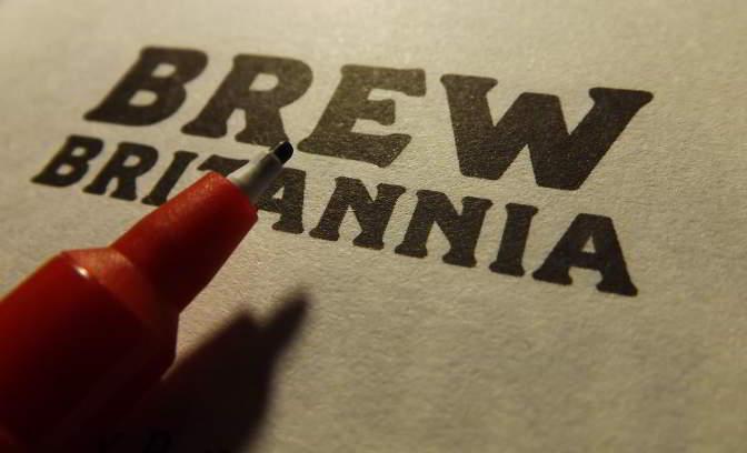 Brew Britannia signing.