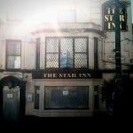 The Star Inn, Penzance, boarded up in August 2013.