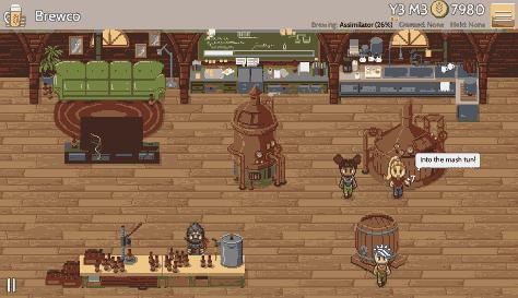Fiz: the brewery management game (screenshot)
