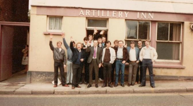 Artillery Inn, Exeter, c.1982.