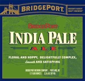 Bridgeport IPA Label.