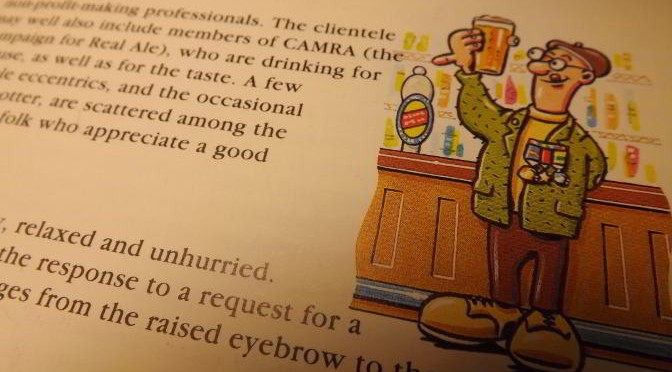 Detail of a page from Pubwatching with Desmond Morris, 1993.