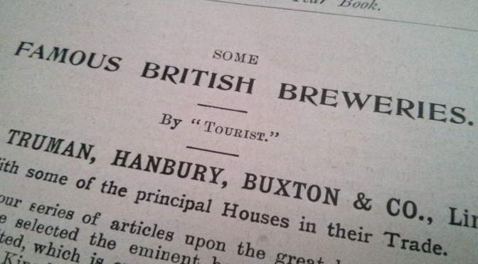 Some Famous British Breweries.
