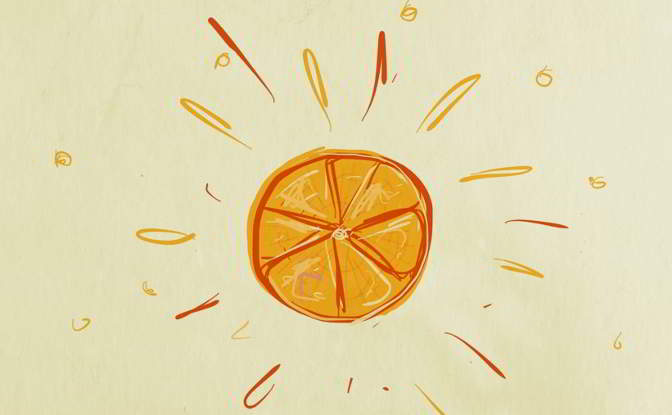Illustration: 'Citrus burst'.
