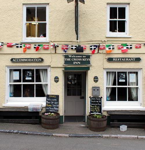 The Cross Keys, Cawsand, Cornwall.