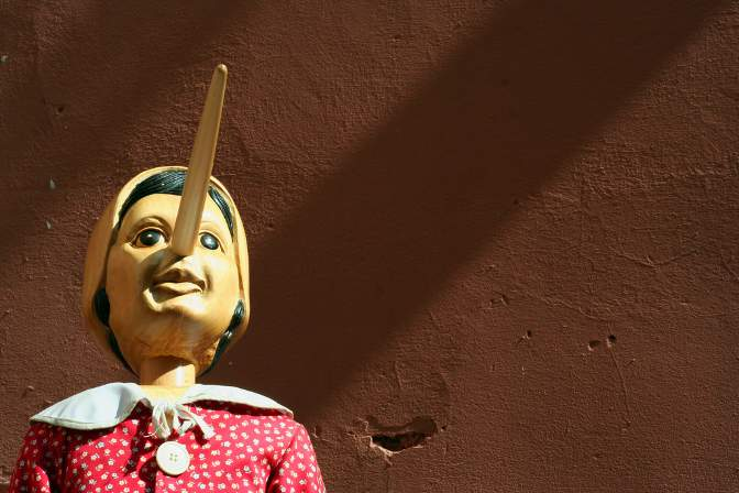 'Pinocchio' by Luigi Orru from Flickr under Creative Commons.