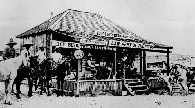 QUOTE: His Courtroom was also his Saloon