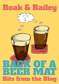 'Back of a Beer Mat' cover design.