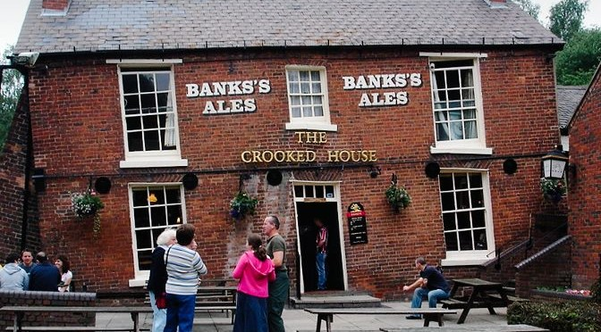 Notable Pubs #2: The Crooked House, Himley, Staffs