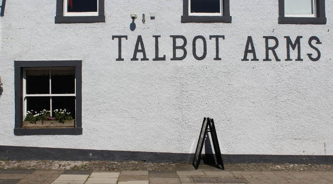 The Talbot Arms -- exterior.
