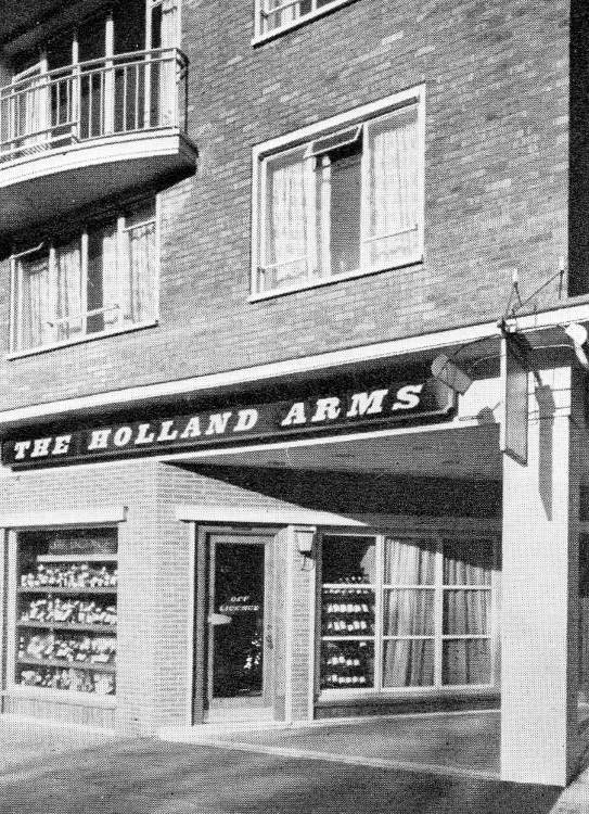 The Holland Arms, London W14, c.1961.