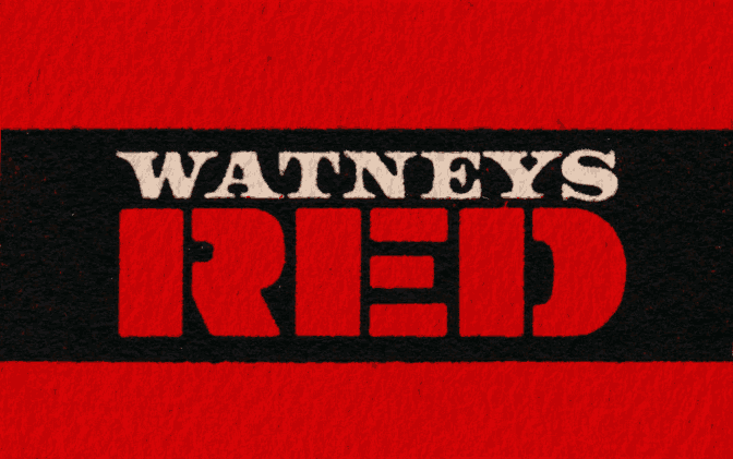 Watney's Red -- detail from beer mat.