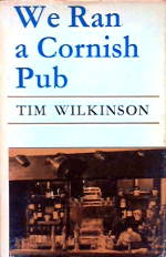 We Ran A Cornish Pub, cover design.