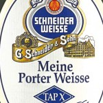 Porter Weisse label.