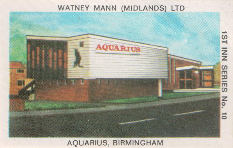 The Aquarius AKA the Bluebell, Chelmsley, Birmingham, which now looks like this.