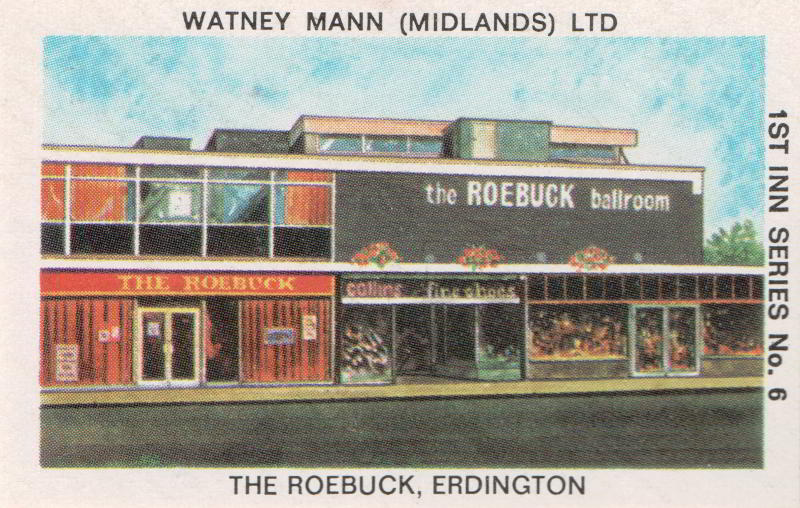 The Roebuck, Erdington, Birmingham, described in 2010 as 'like a wild west saloon'.