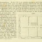 'Small inn', Interior plan and key.
