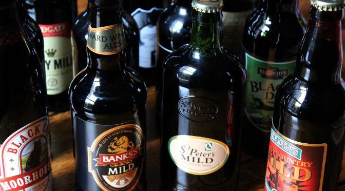 Bottles of mild.