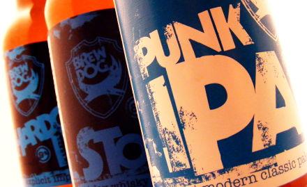 BrewDog IPAs c.2009 (old labels).
