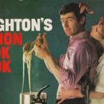 PENGUN PAPERBACK COVER: Len Deighton's Action Cook Book, 1967 edition.