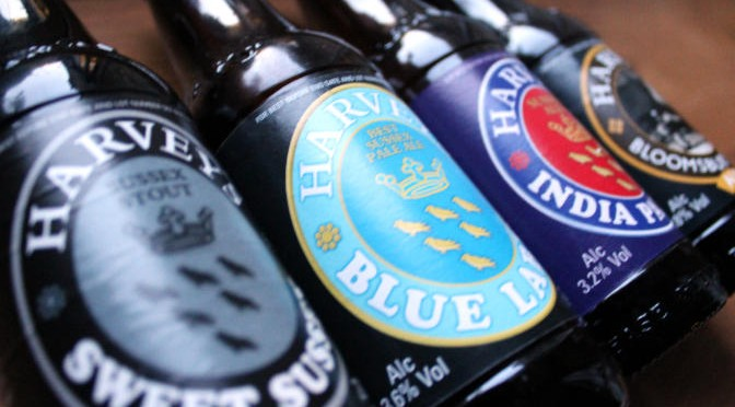 Retro Bottles from Harvey's