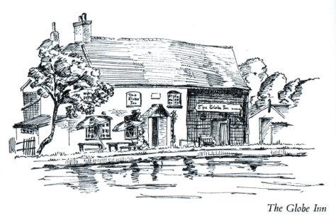 Riverside pub.