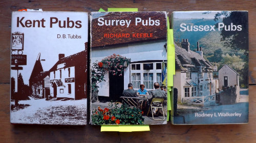 Home Counties pub guides, 1960s.