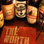 Milds from the North with a copy of The North Country by Graham Turner.