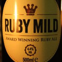 Rudgate Ruby Mild label.