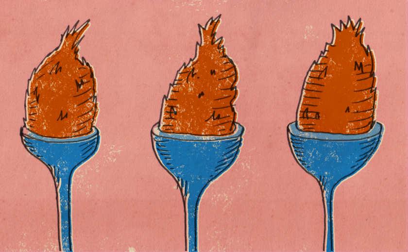 Illustration: The Coconut Shy.