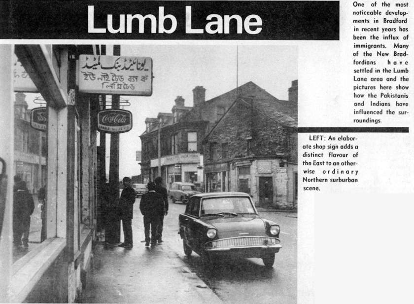 Lumb Lane, from 'Changing Bradford', 1969, via Bradford Timeline on Flickr.