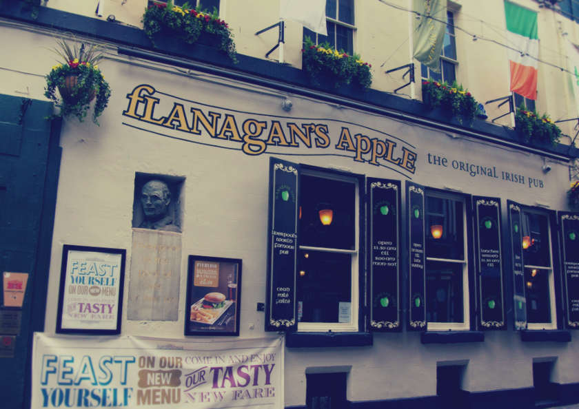 Flanagan's Apple: The Original Irish Pub, photographed by Adam Bruderer.