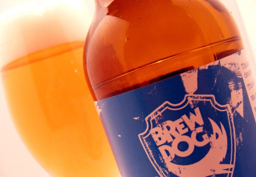 BrewDog Punk IPA as it looked in 2009.