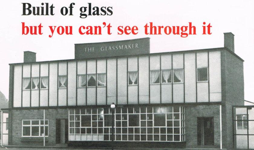 A Pub Made of Glass