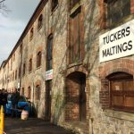 Exterior of Tucker's Maltings.